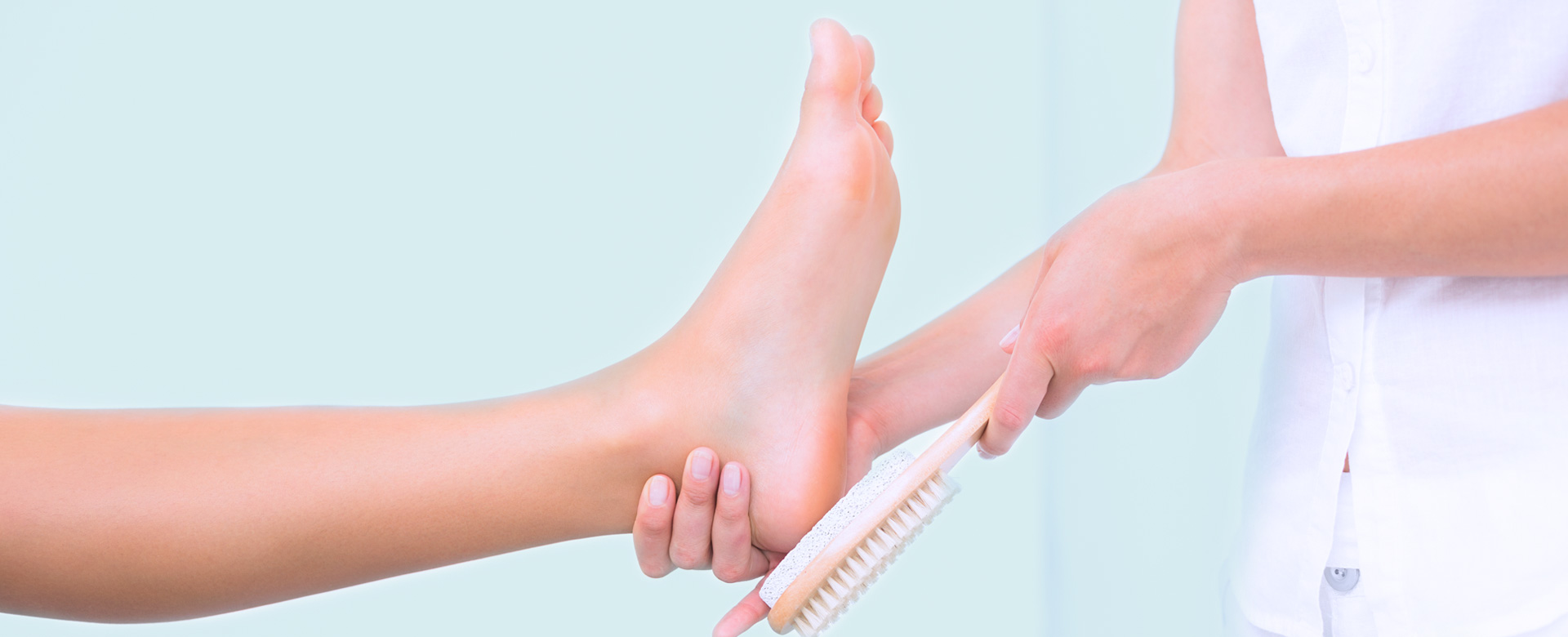 The Beute Clinic foot Treatment